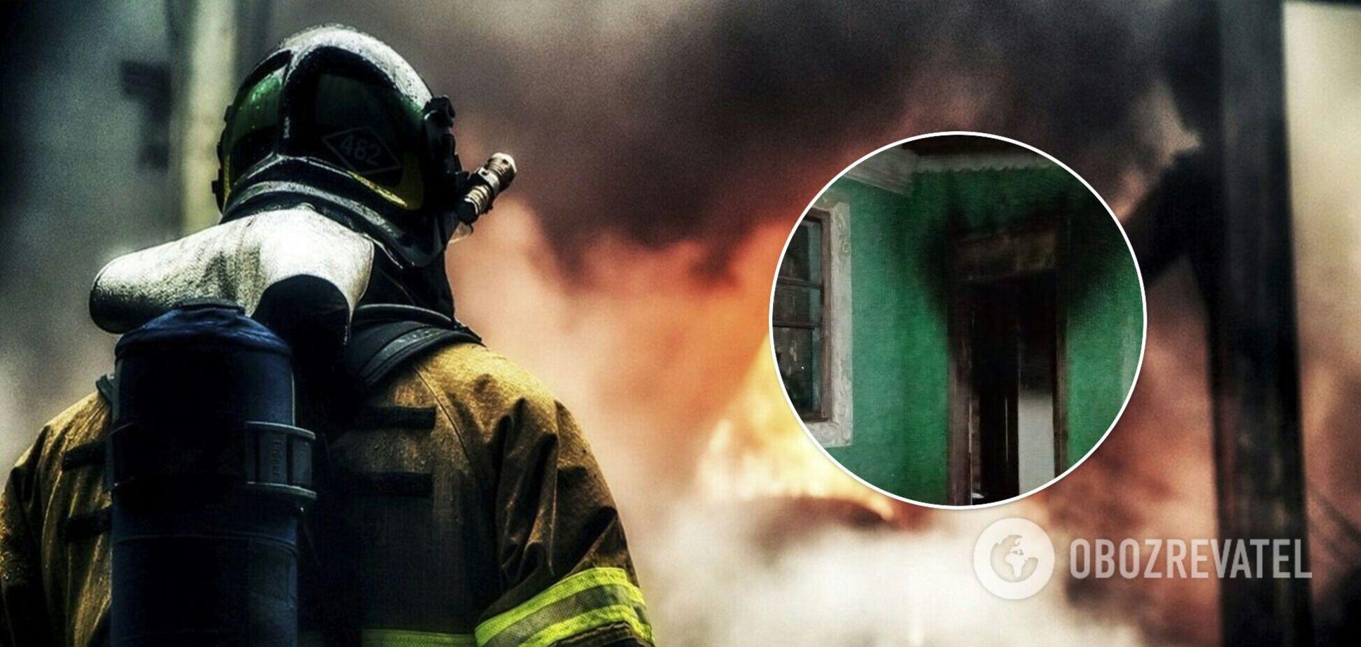 На Одещині підлітки для розваги підпалили будинок багатодітного батька-одинака. Фото