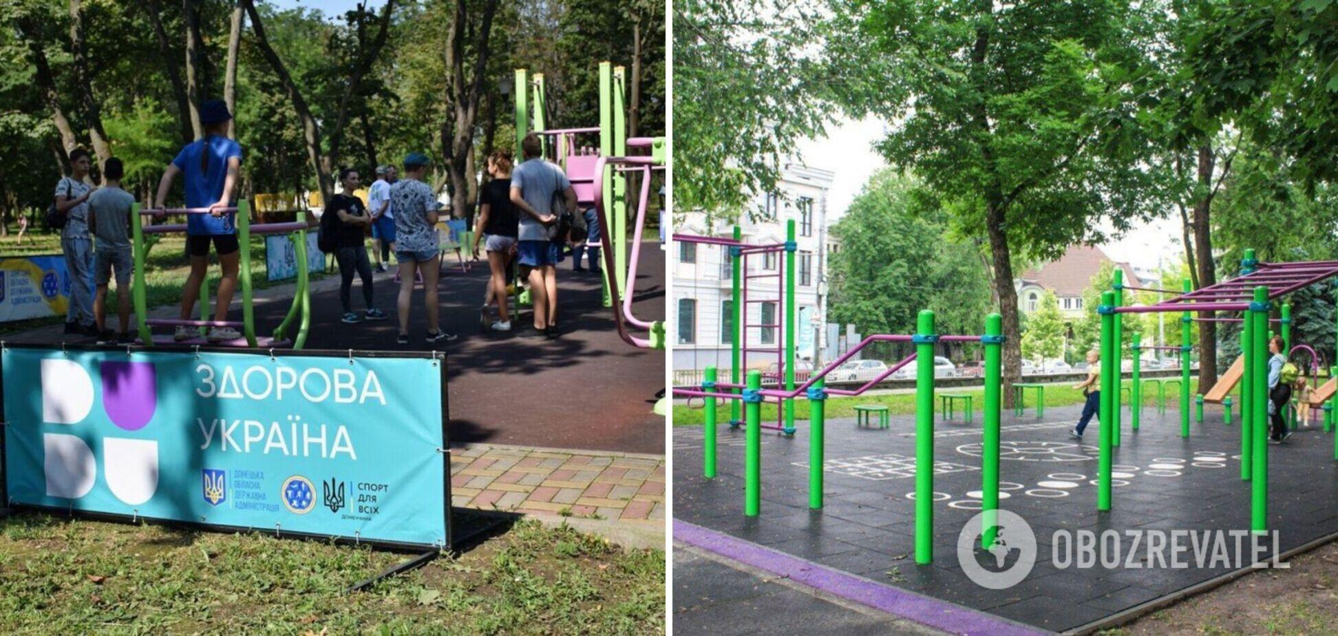 В Офисе президента пообещали спортплощадки 'в каждом дворе' и тренировки с Зеленским. Фото