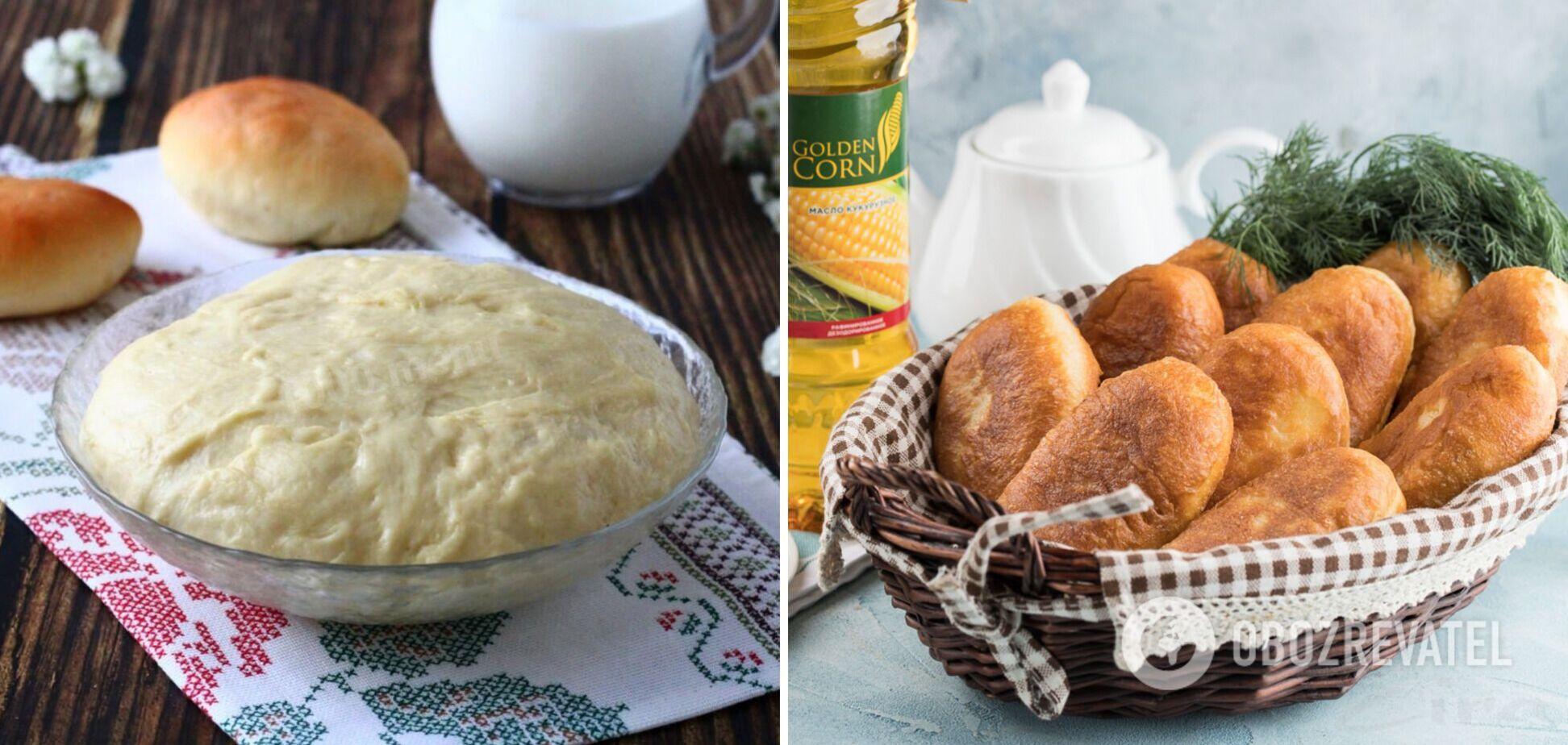 Лучшее тесто для жареных пирожков: 2 варианта