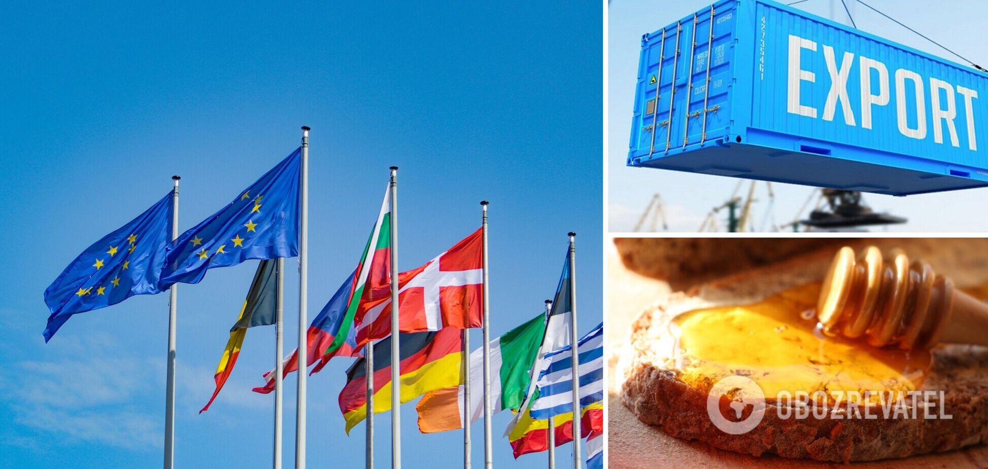 Украина вошла в топ-4 поставщиков продовольствия в Евросоюз