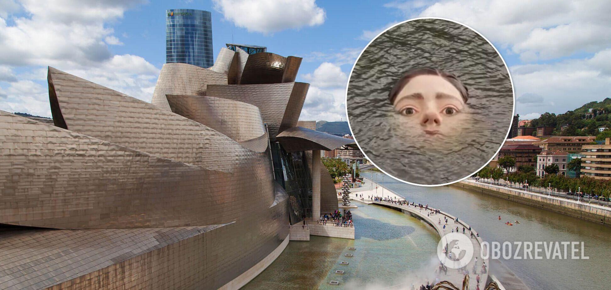 В Іспанії обличчя дівчини, що тоне в річці, налякало місцевих жителів. Фото і відео
