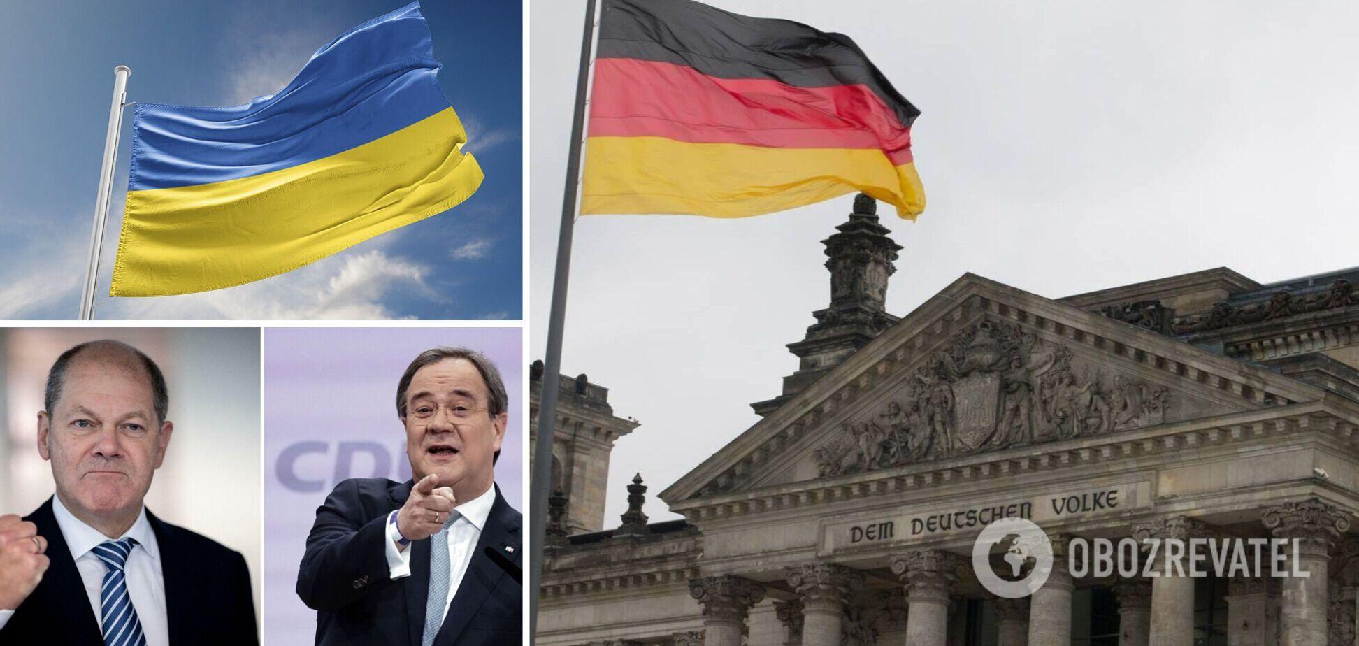 Олаф Шольц и Армин Лашет претендуют на пост канцлера Германии