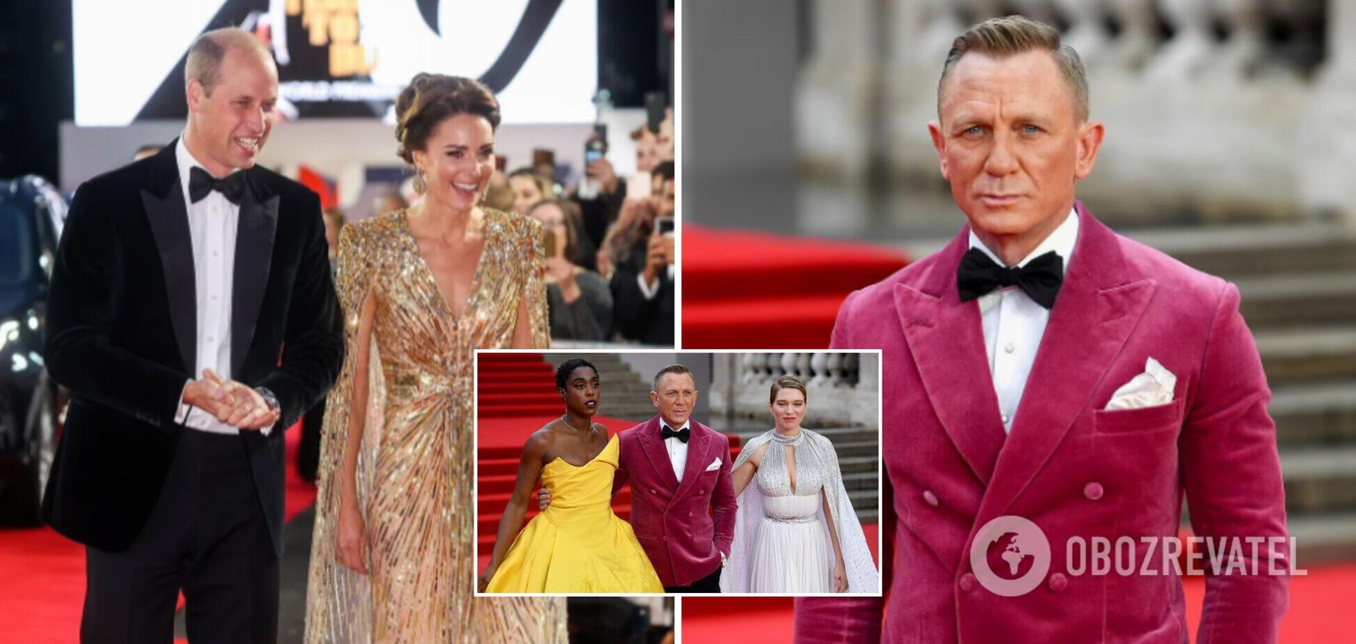 Члены королевской семьи и звезды кино: в Лондоне состоялась мировая премьера нового фильма Бондианы. Фото с красной дорожки