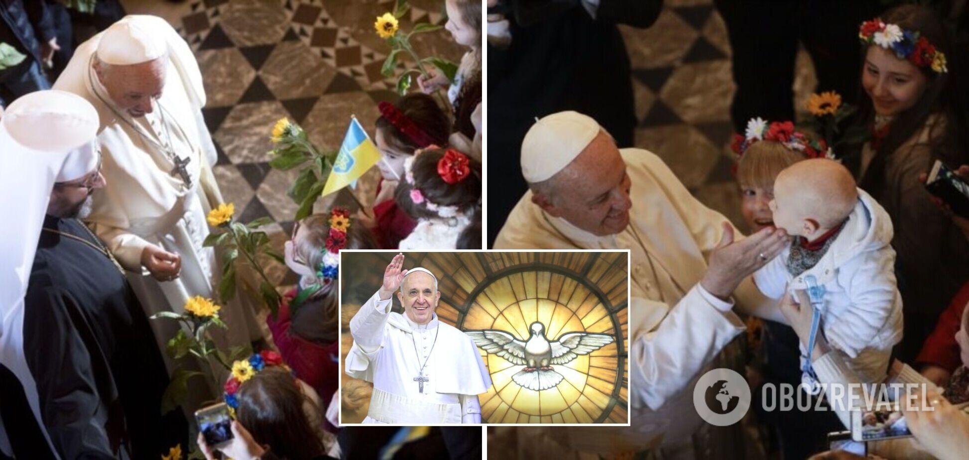 Папа Римський в майбутньому році може відвідати Україну - ЗМІ