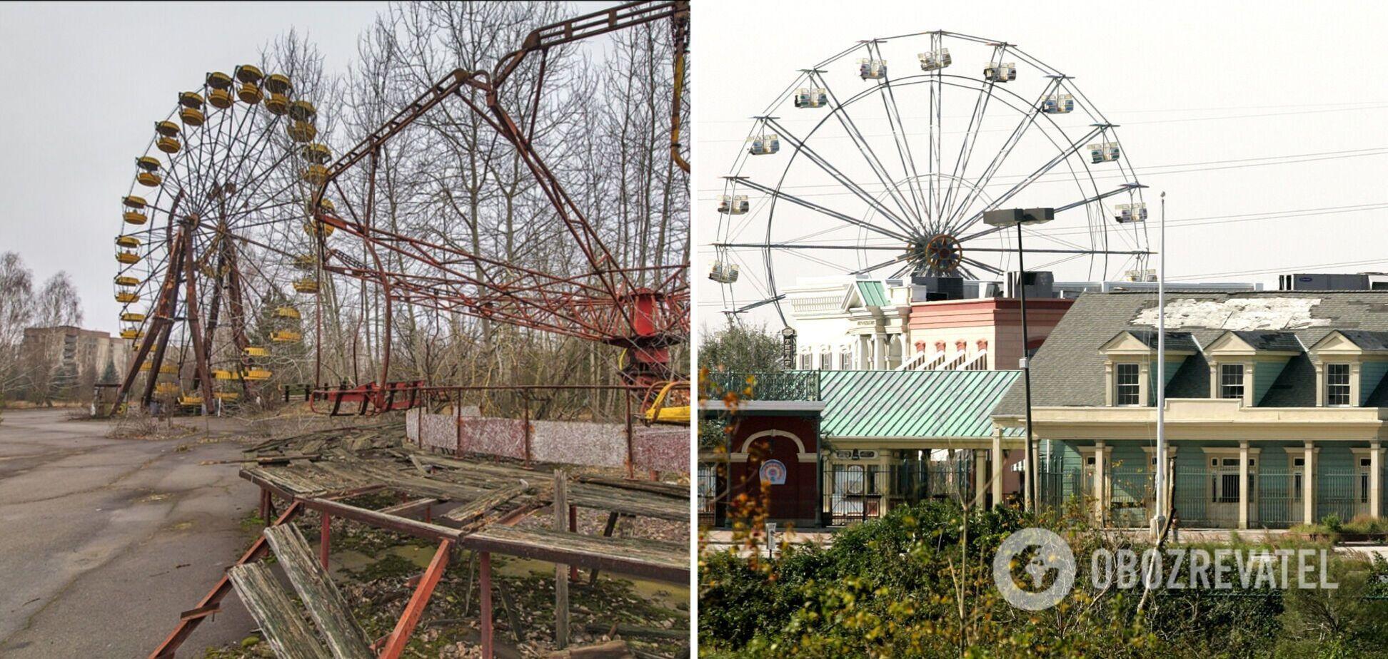 Как в Чернобыле: в США показали жуткий парк развлечений. Фото и видео