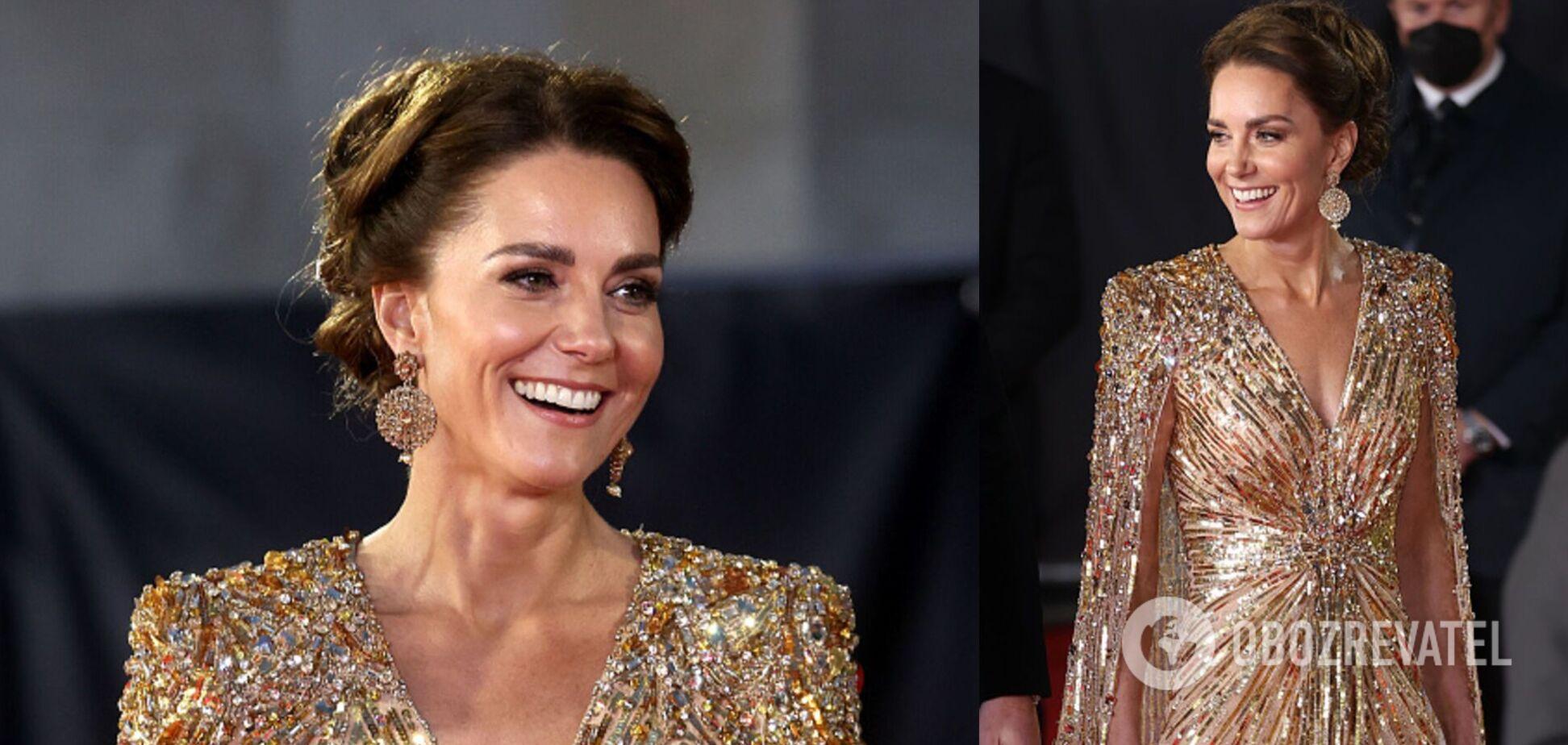 Миддлтон поразила нарядом как у принцессы Дианы на премьере 'Не время умирать': сколько стоит образ. Фото