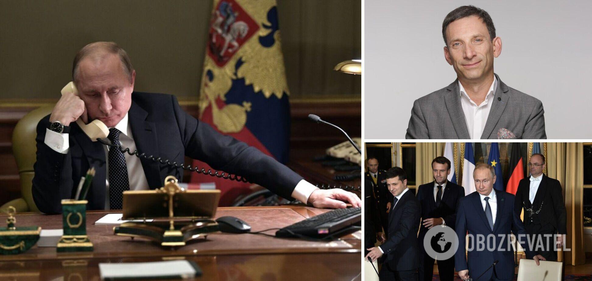 Портников пояснив, чому Путіну не цікавий Зеленський