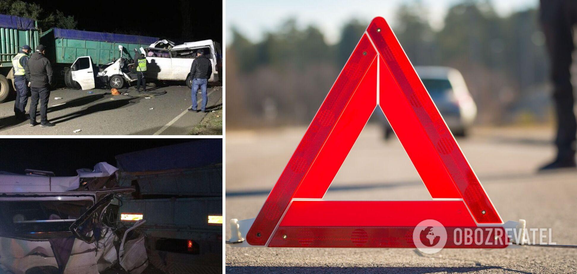На Миколаївщині в аварії загинули чотири людини