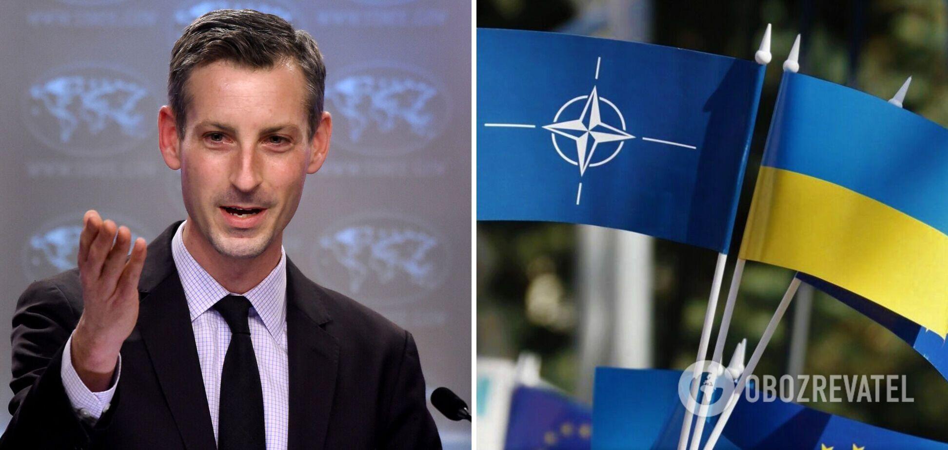 Спикер Госдепа США – о перспективах вступления Украины в НАТО: у каждой страны есть право на выбор