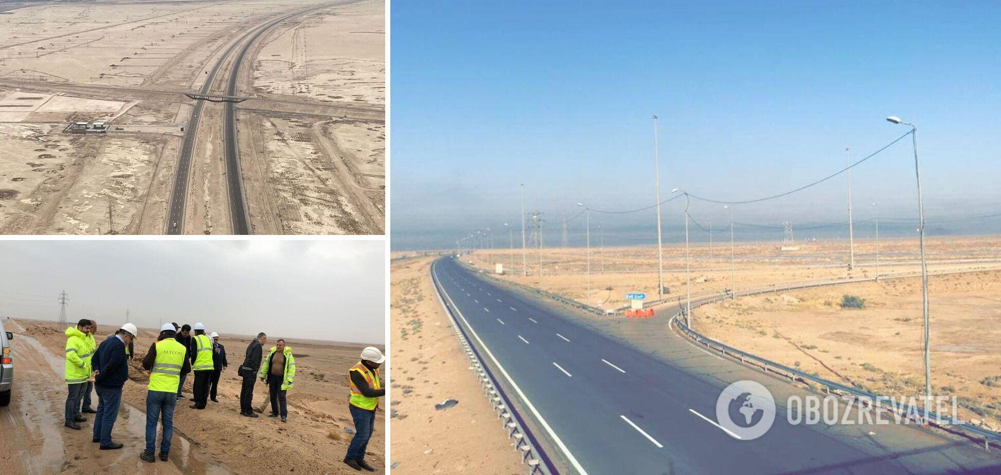 'Складний, але цікавий досвід': український 'Альтком' завершив будівництво шосе №1 в Іраку