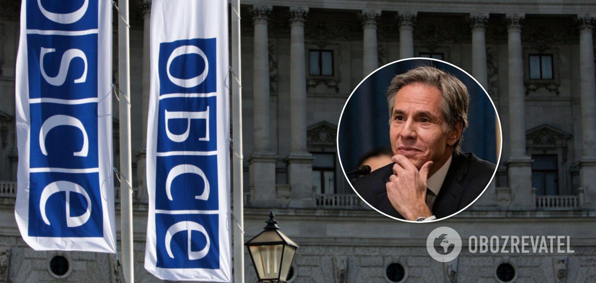 США обвинили Россию в срыве совещания ОБСЕ в Варшаве: Блинкен выступил с заявлением
