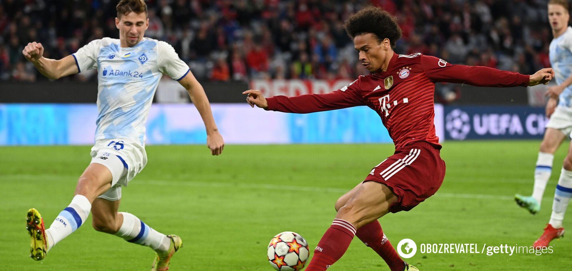 Бавария забила Динамо