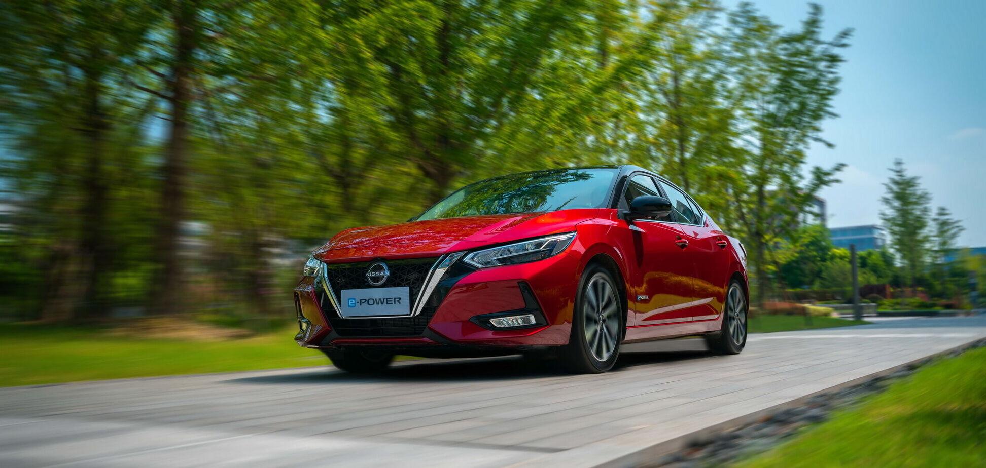 Nissan представила гібридний седан Sylphy e-Power