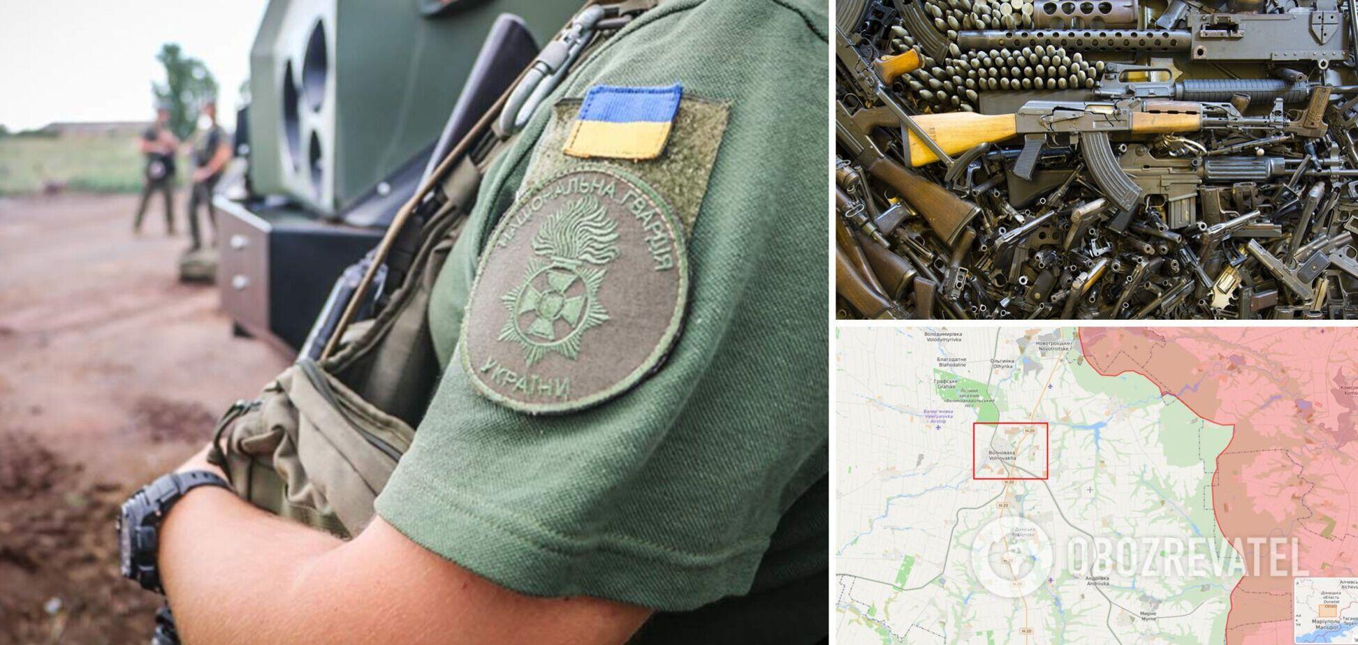 У Донецькій області затримали водія авто з цілим арсеналом зброї