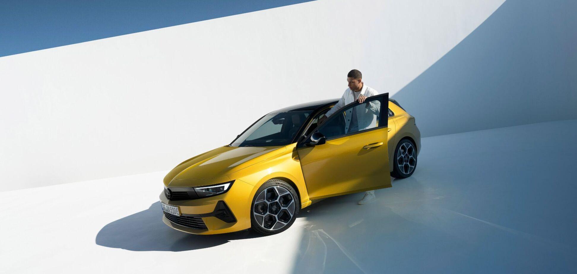 Opel анонсував електричну версію Astra