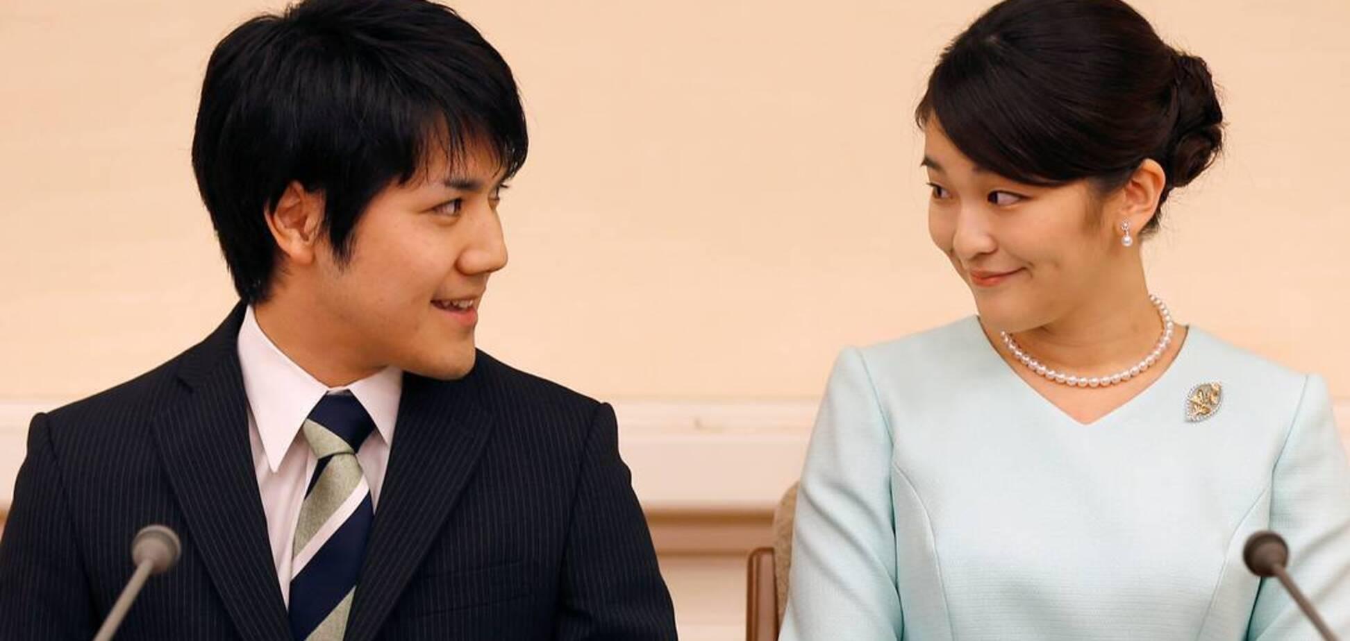 Японська принцеса Мако відмовилась від 1,3 млн доларів заради весілля з коханим. Фото