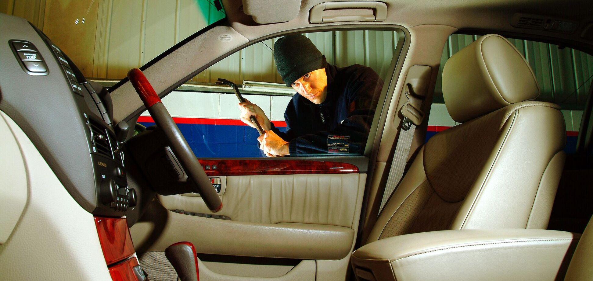 В Украине количество угонов авто снизилось до рекордного уровня