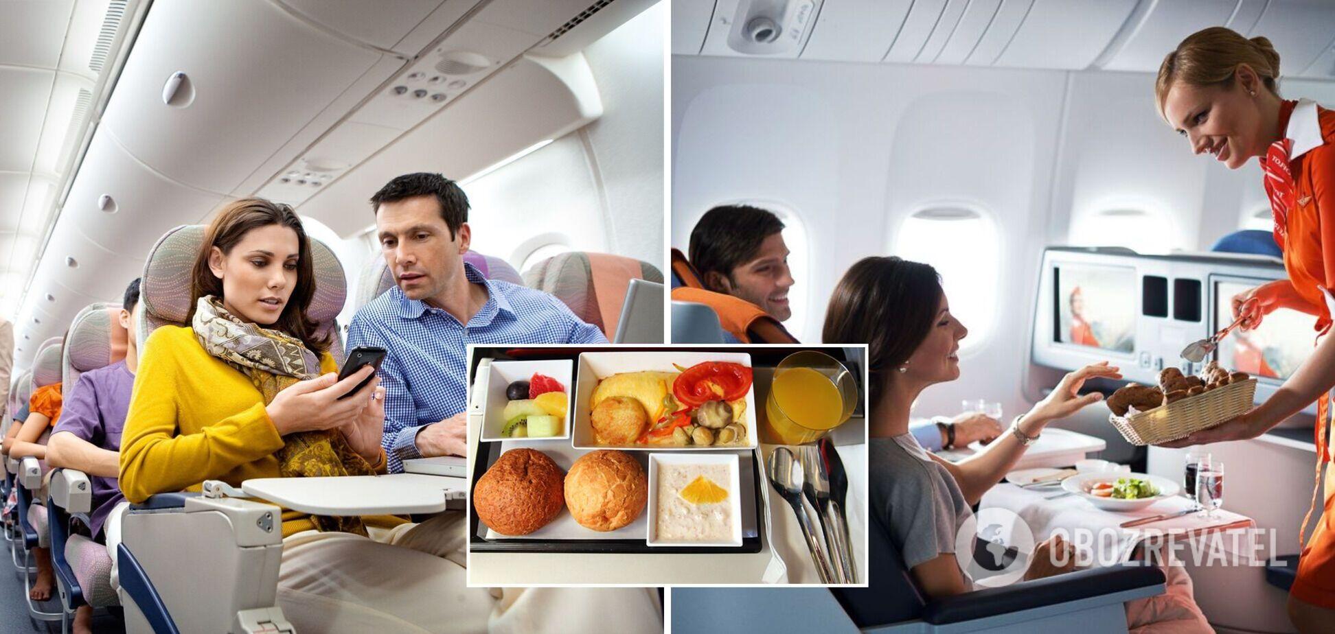Какие продукты и напитки нельзя употреблять перед полетом