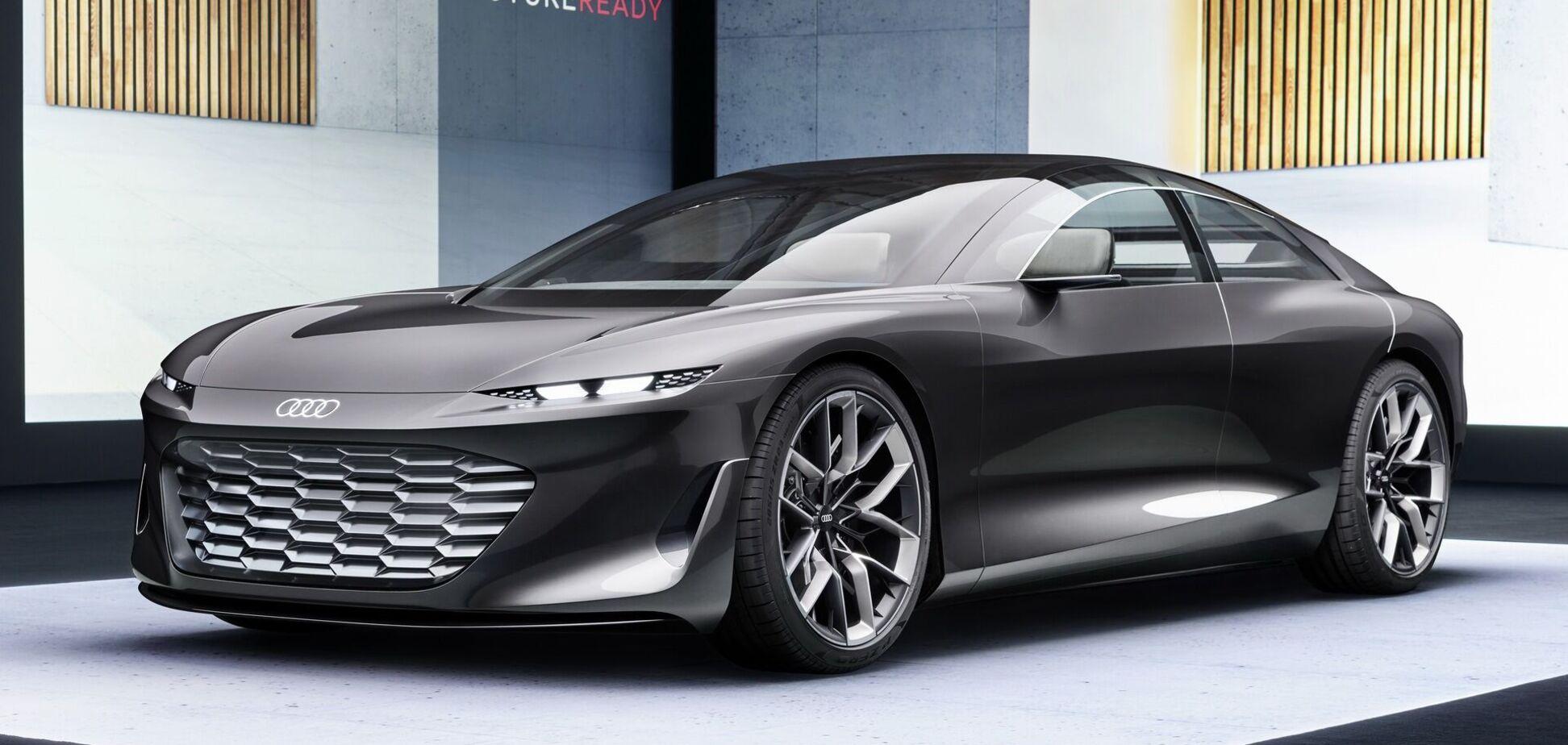 Audi показав концептуальний седан Grandsphere