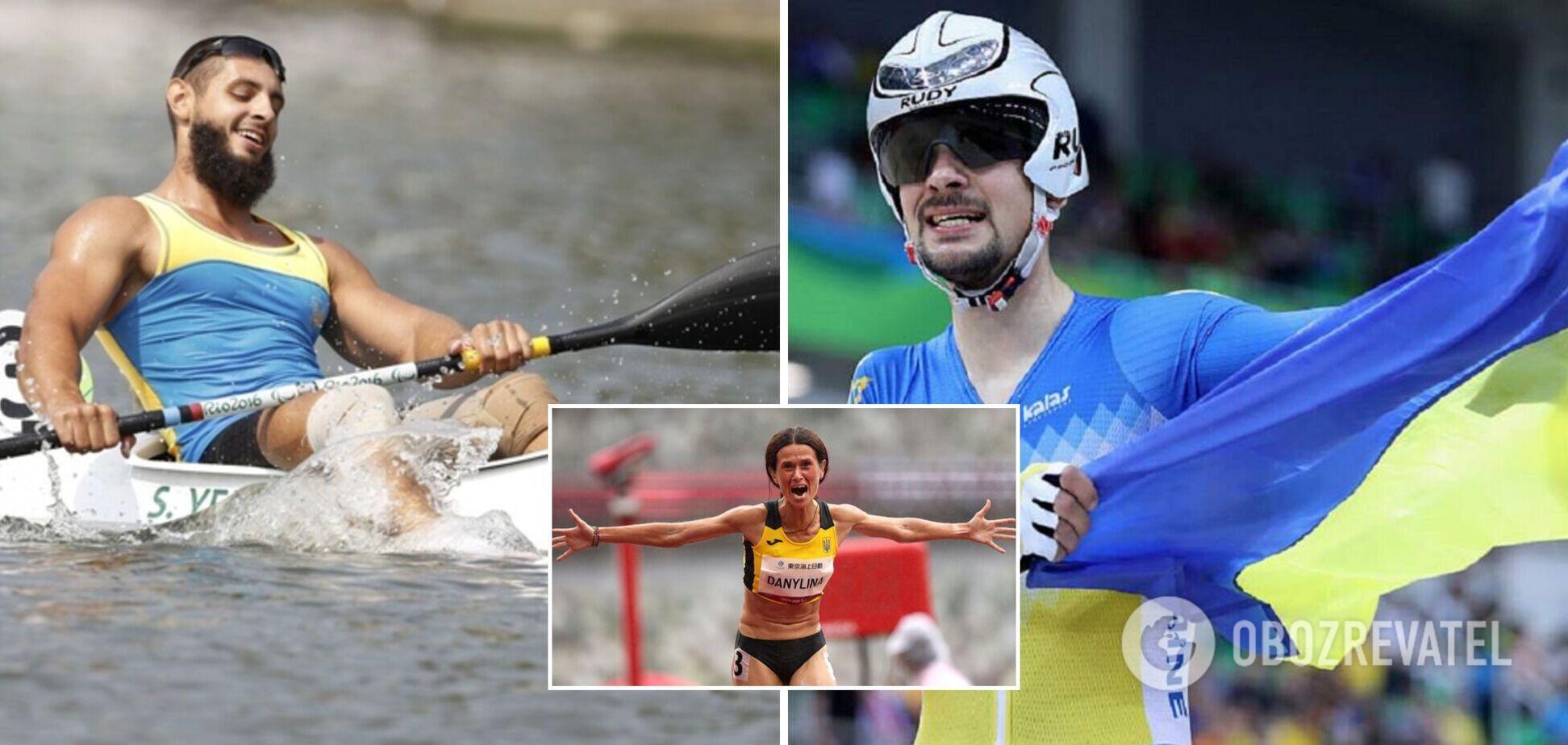Україна завоювала п'ять медалей у ранковій сесії 3 вересня