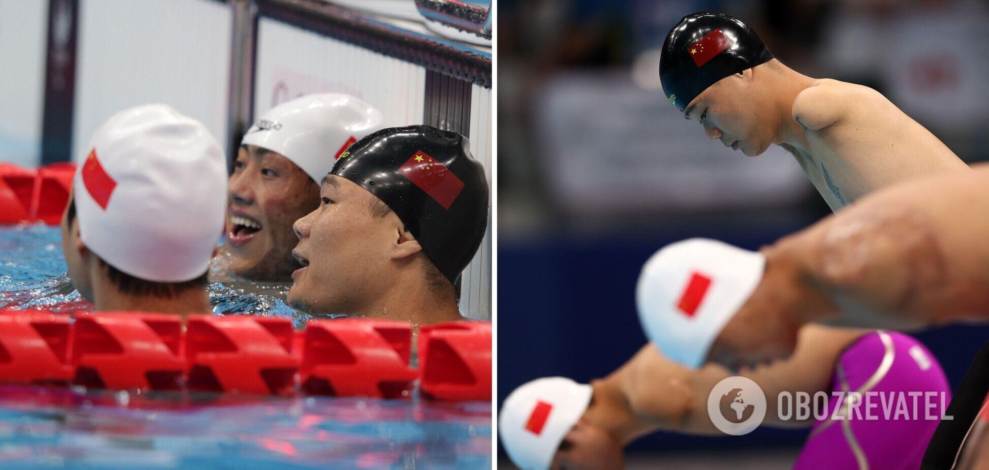 'Безрукий плавець' із Китаю став світовою зіркою після перемог на Паралімпіаді-2020. Відео