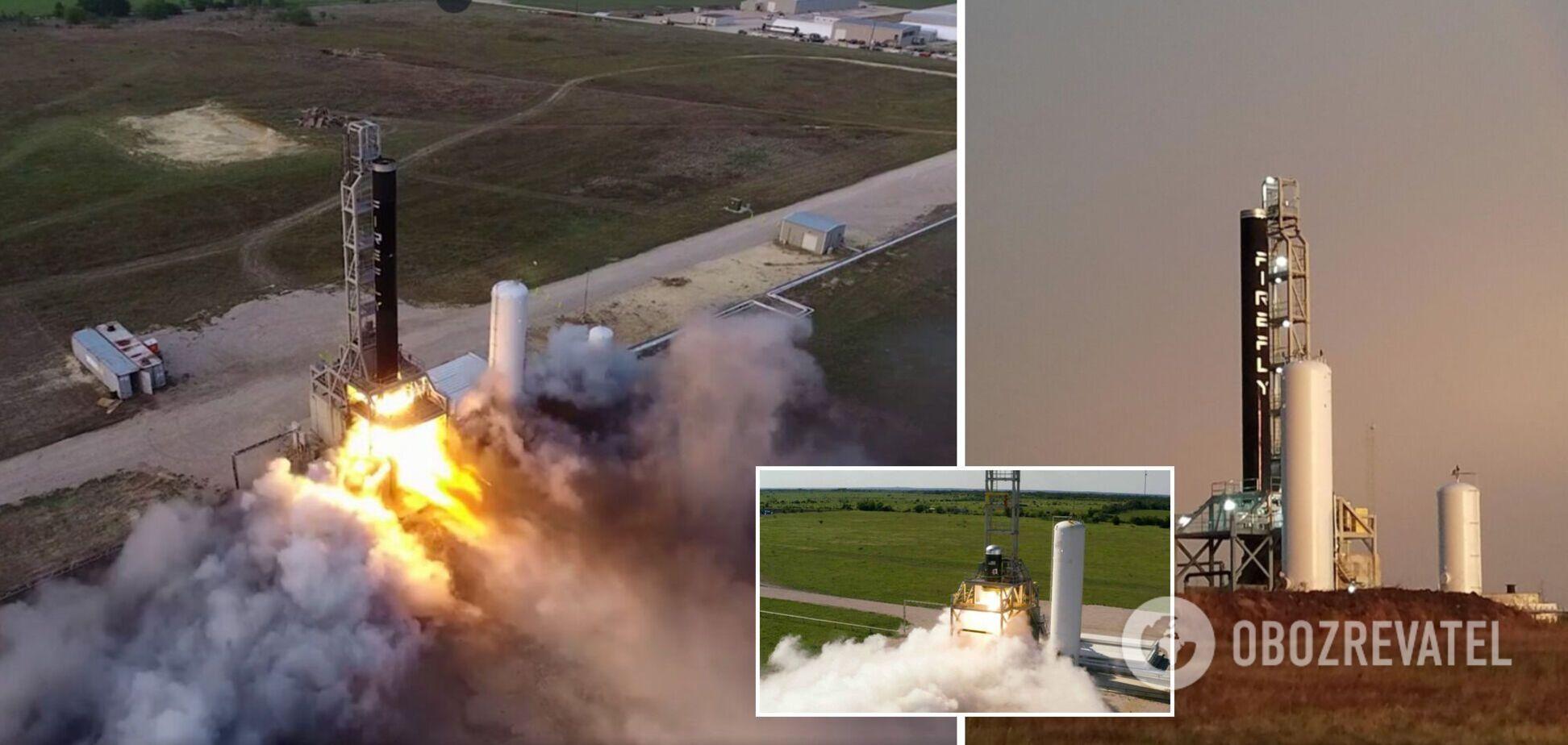 Firefly Aerospace вперше запустила ракету в космос