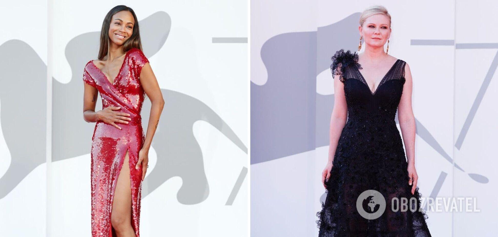 Джессика Честейн, Кирстен Данст и другие: в чем пришли голливудские звезды на Венецианский фестиваль. Фото