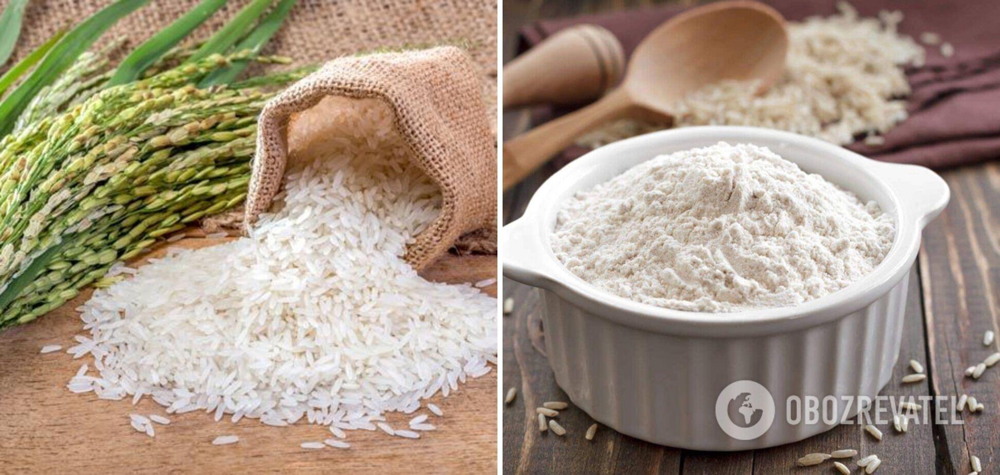 Рисовая мука – низкокалорийная альтернатива для десертов