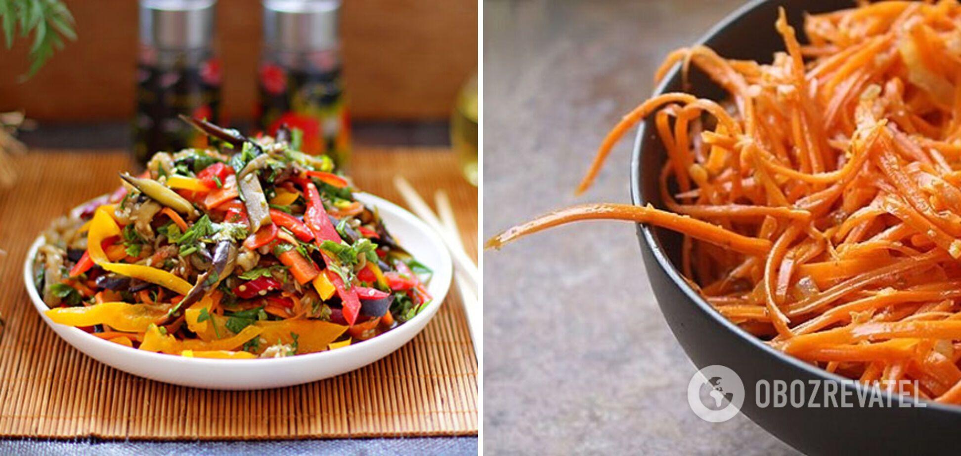 Не только морковь по-корейски: рецепты пряных овощных закусок