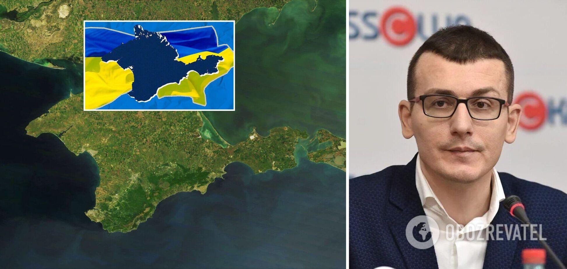 Питання деокупації Криму має стати провідною темою в українських ЗМІ – НСЖУ