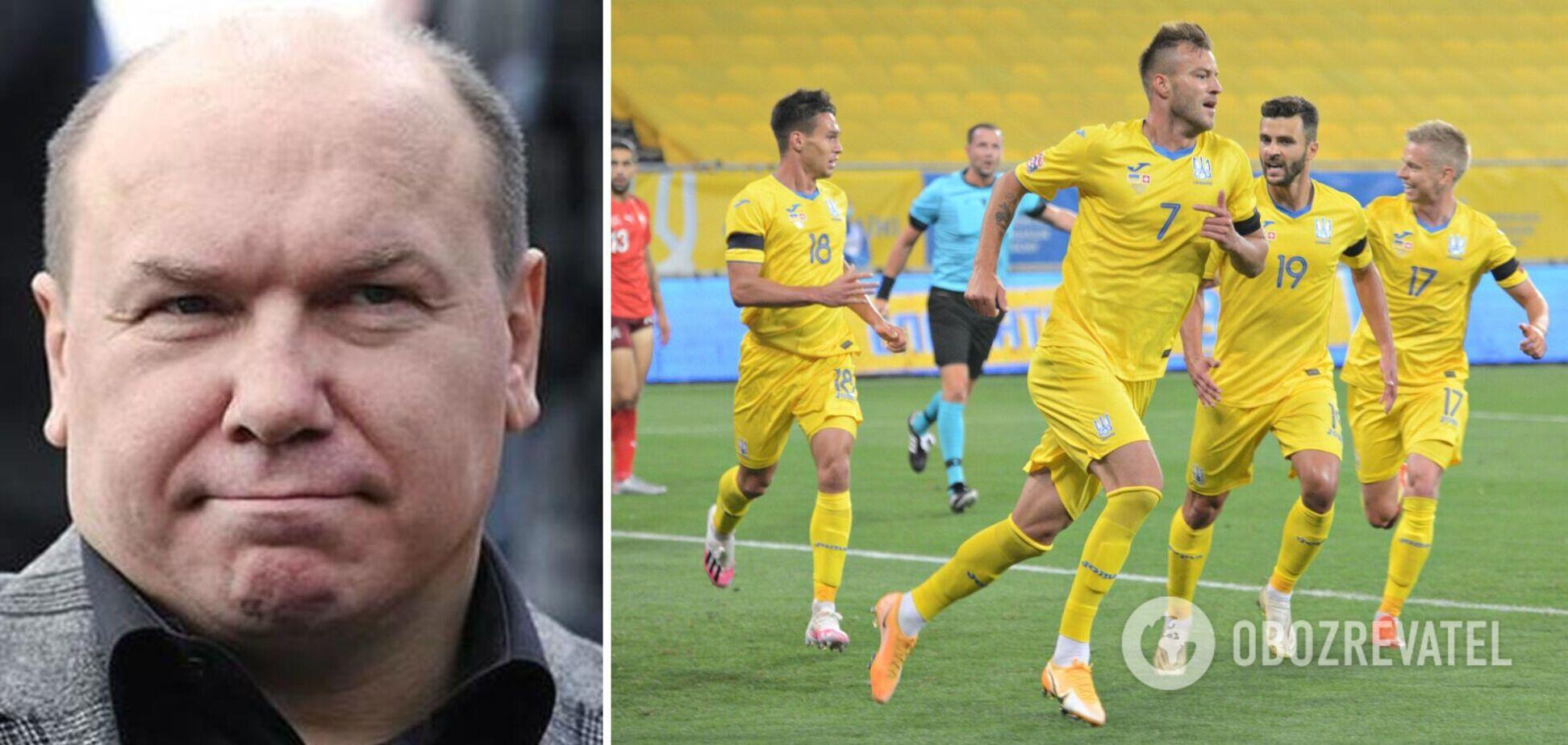 Леоненко высказался о шансах сборной Украины перед Францией