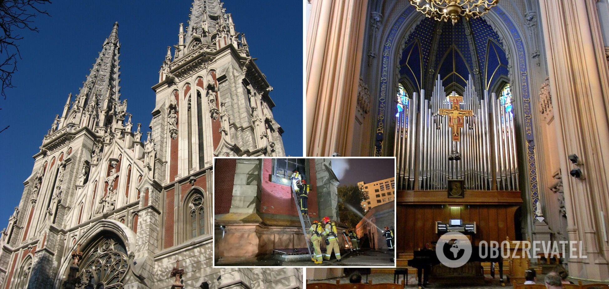 У Миколаївському костелі згорів орган