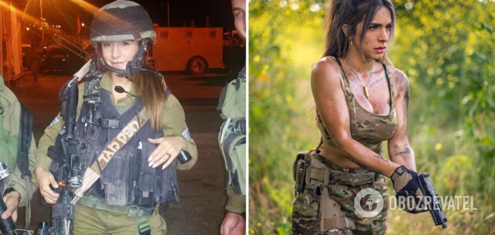 'Королева гармат': як боєць ЦАХАЛу стала моделлю і прославилася в мережі. Фото