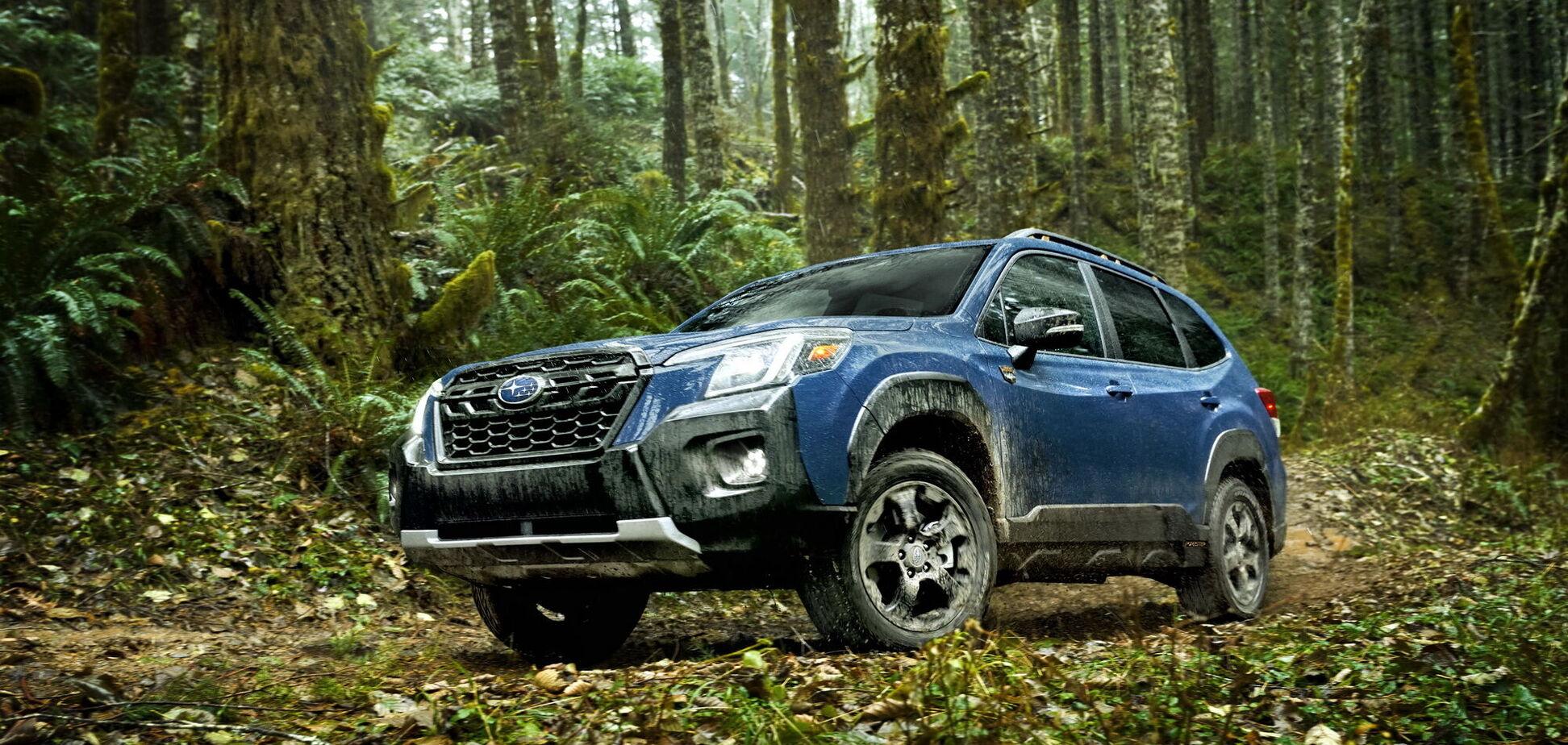 Subaru показала версию Forester Wilderness