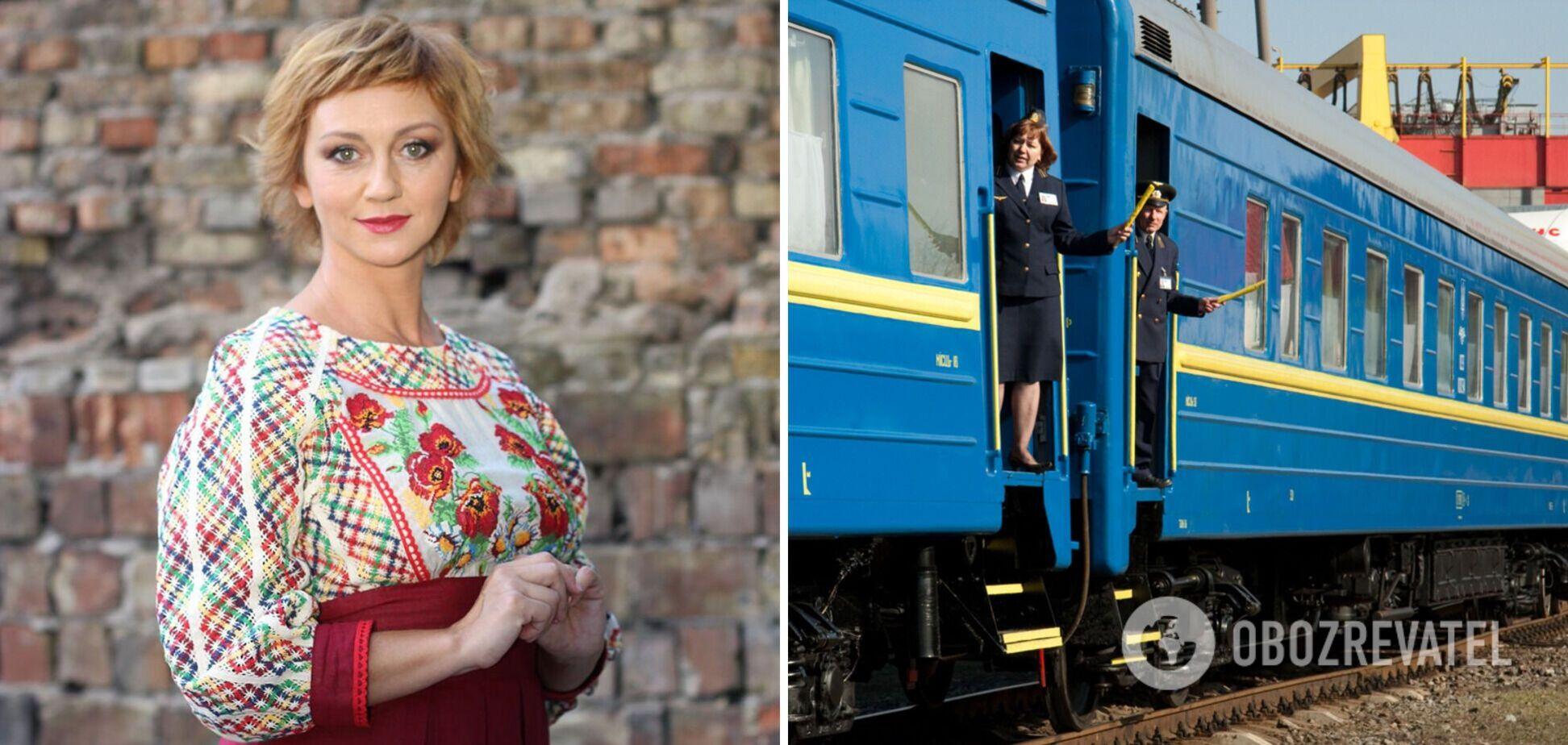 'Як із цим боротися?': українська актриса поскаржилася на обслуговування 'Укрзалізниці'