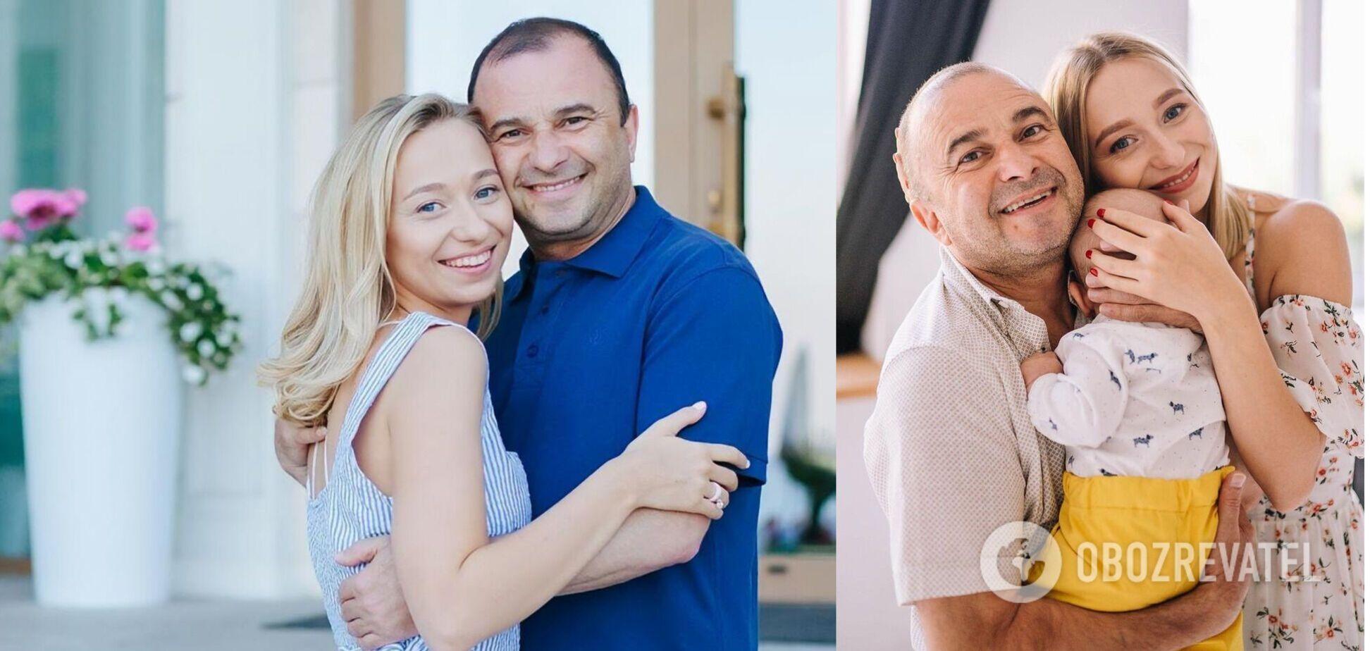 Виктор Павлик с женой впервые показали лицо сына. Фото