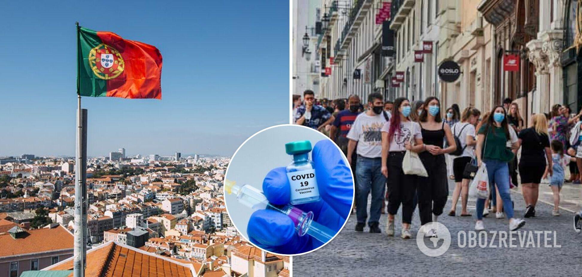 Португалія стала лідером з вакцинації проти COVID-19 в Європі: влада повідомила про зняття всіх заборон