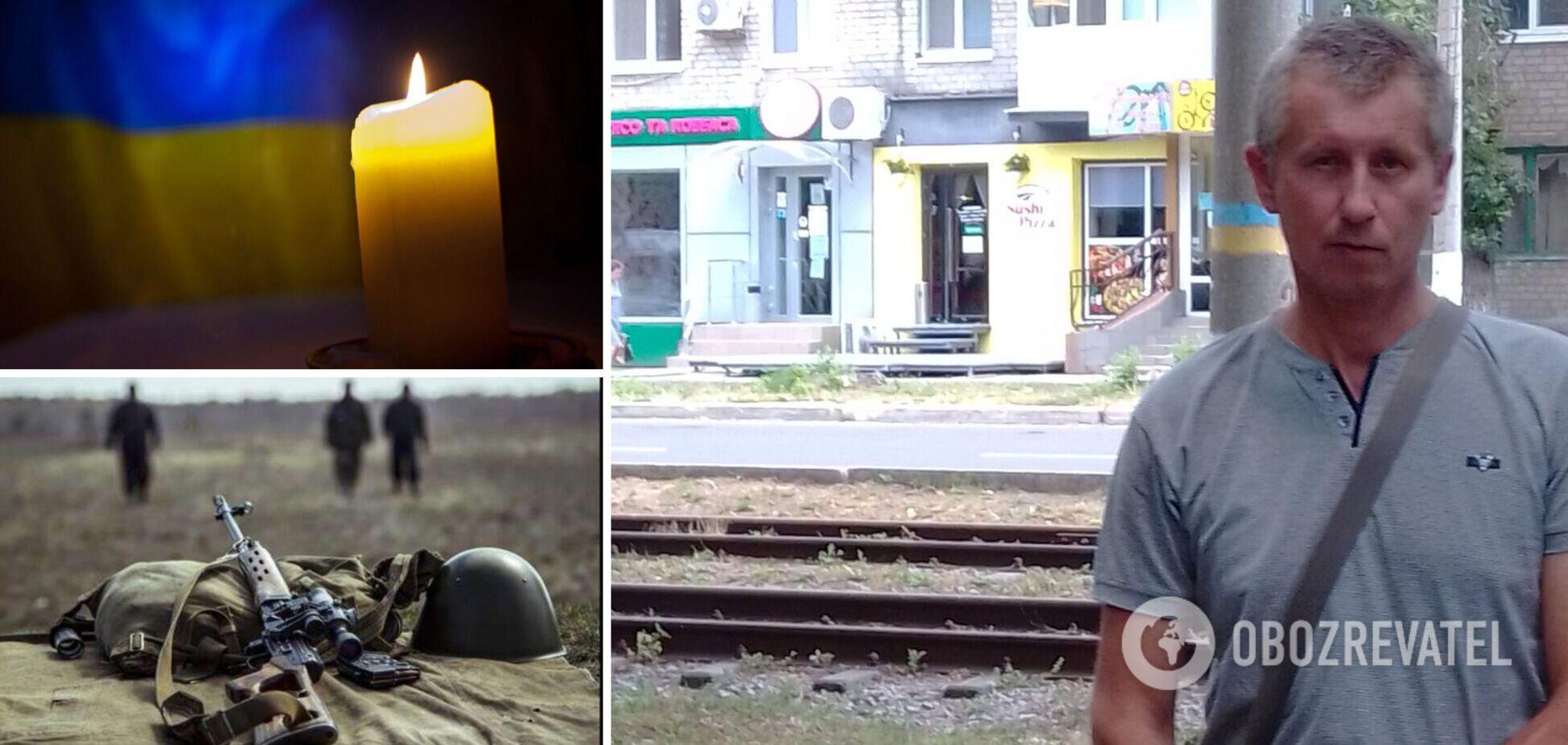 На Донбасі загинув український військовий Віктор Молостов