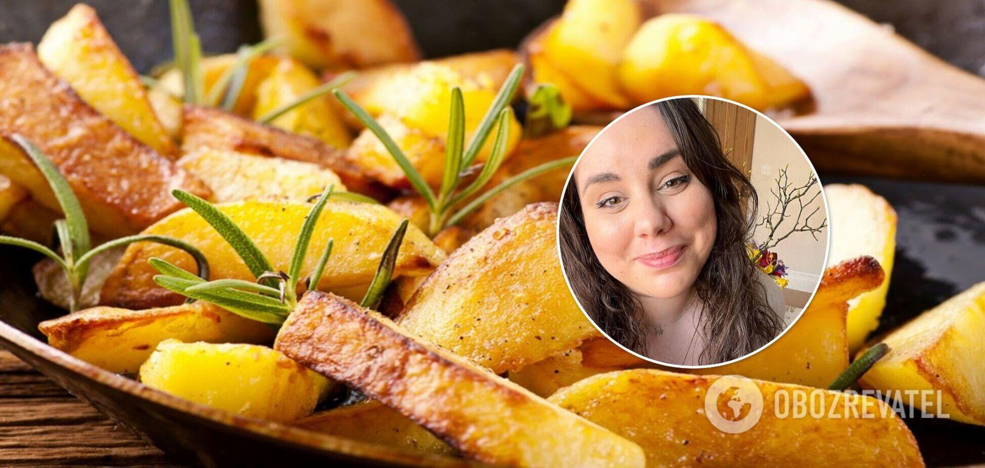 Рецепт запеченої картоплі