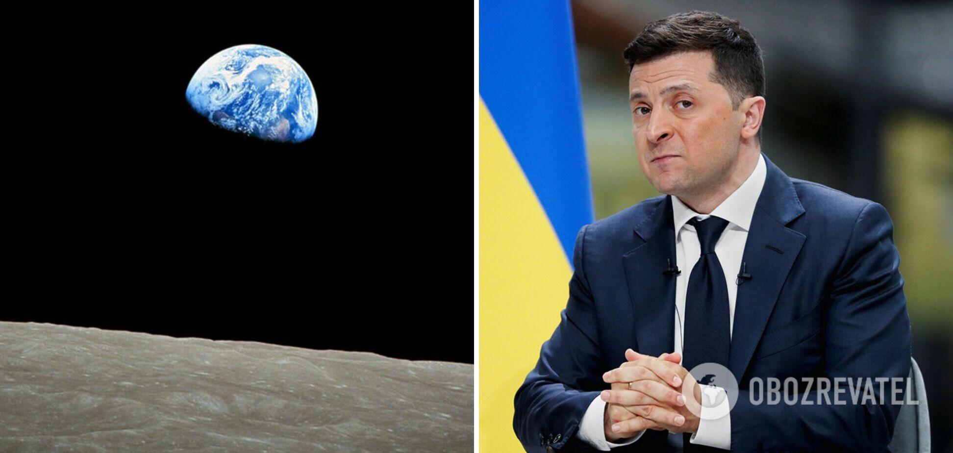 Зеленський поставив завдання у 2022 році запустити супутники, а в 2024 – модуль на Місяць, – Уруський