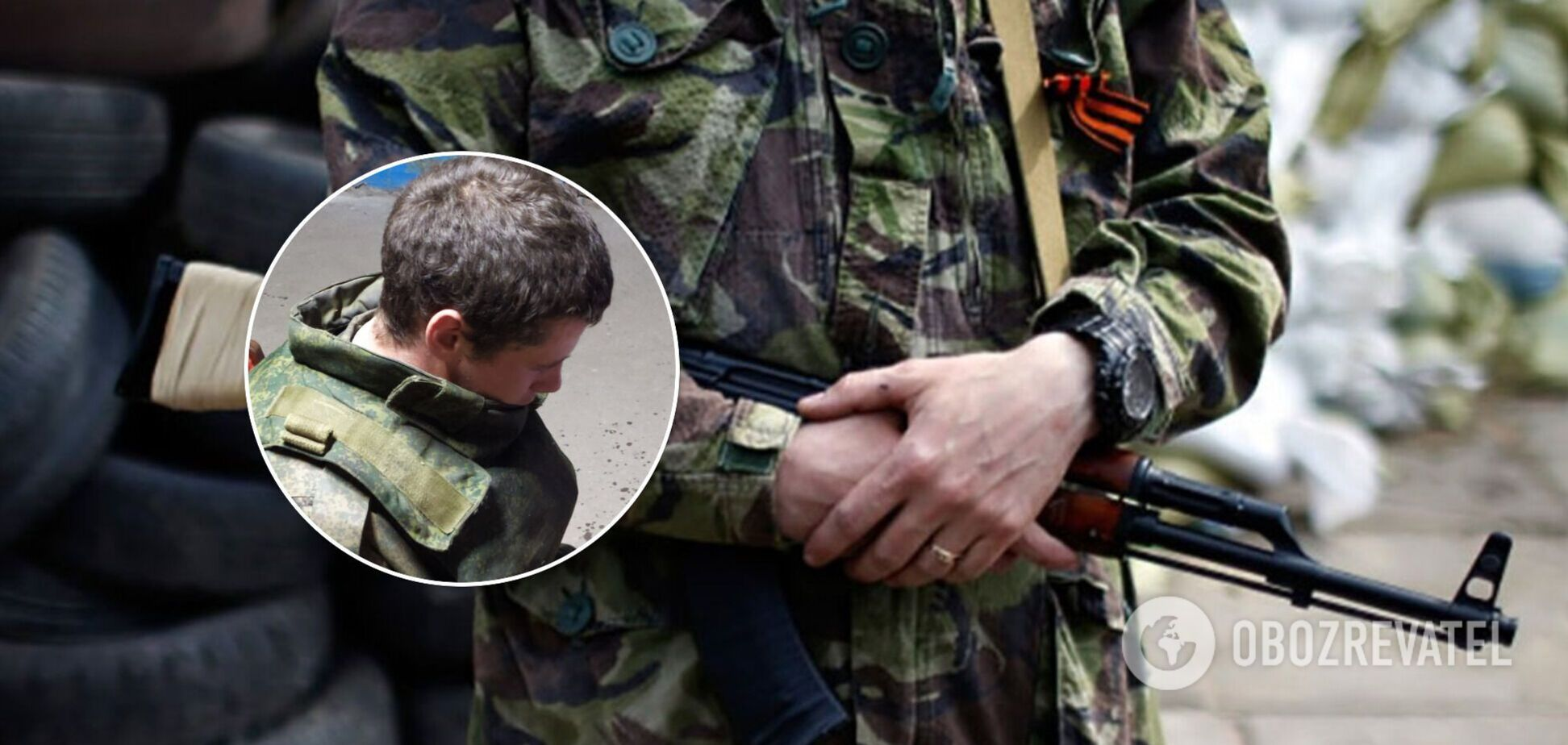 На Донбасі здався в полон ЗСУ 23-річний бойовик 'ЛНР': не витерпів принижень і побоїв 'товаришів по службі'. Фото