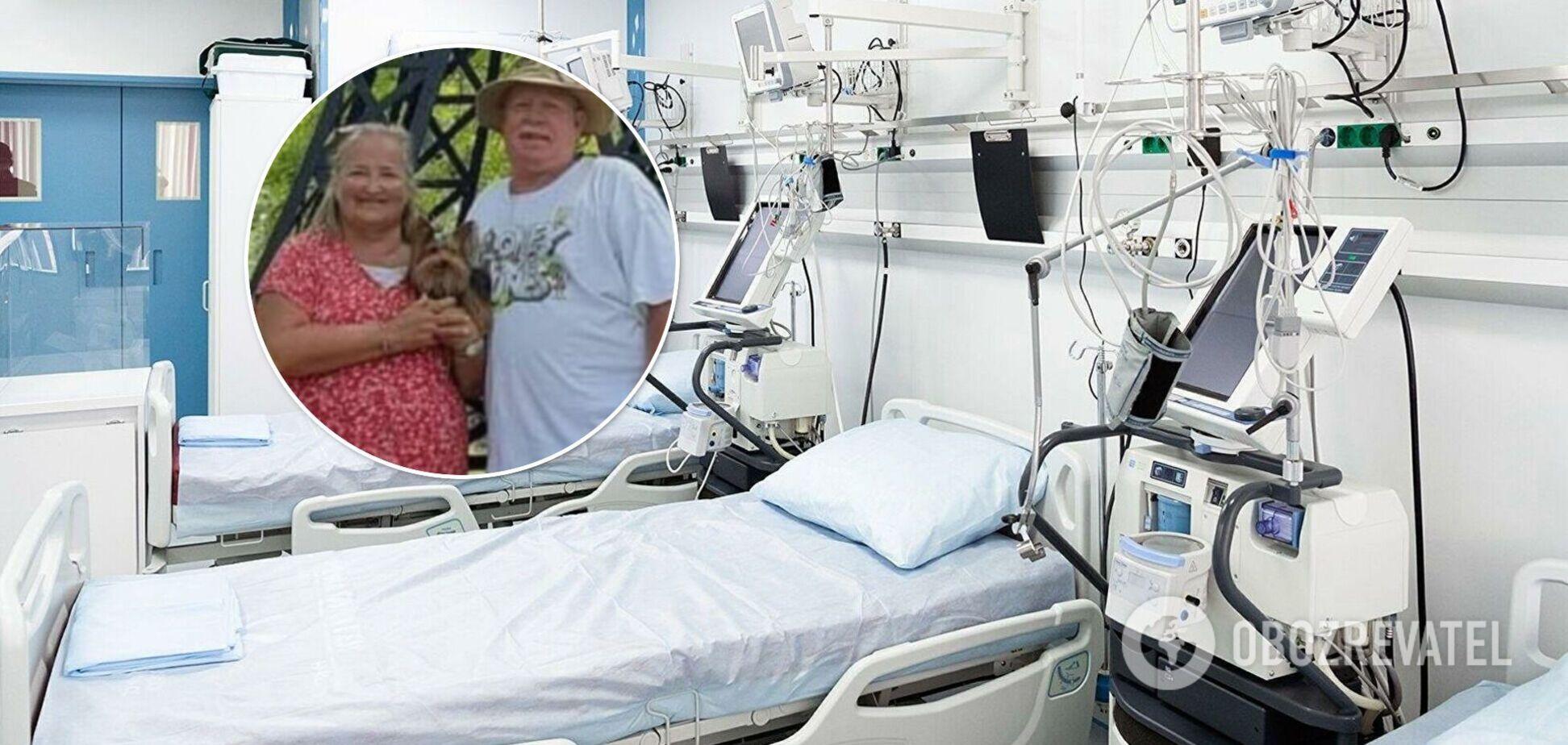 В США муж и жена умерли от коронавируса в больнице с разницей в минуту. Фото