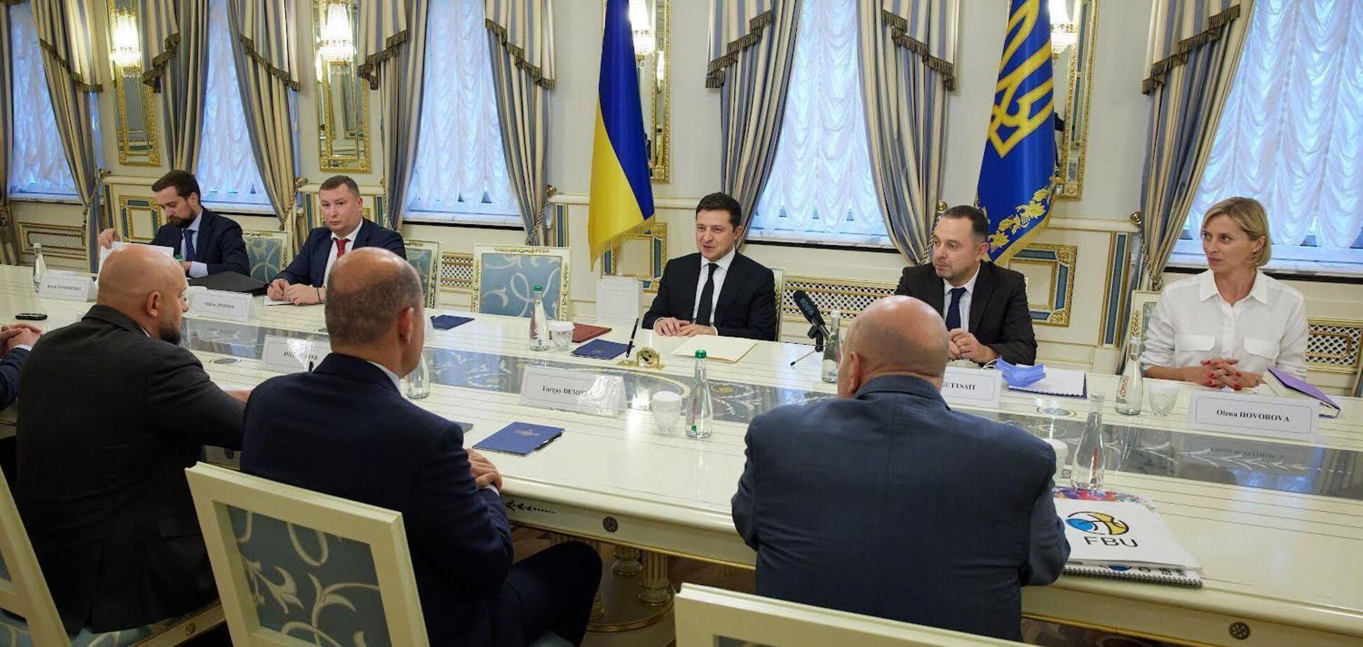 Зеленський висловився про проведення Євробаскету-2025 Україні