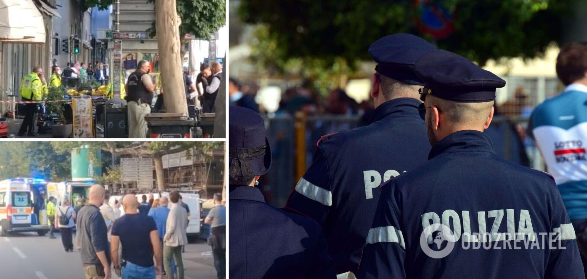 В итальянском Триесте произошла стрельба в центре города: 8 раненых. Видео