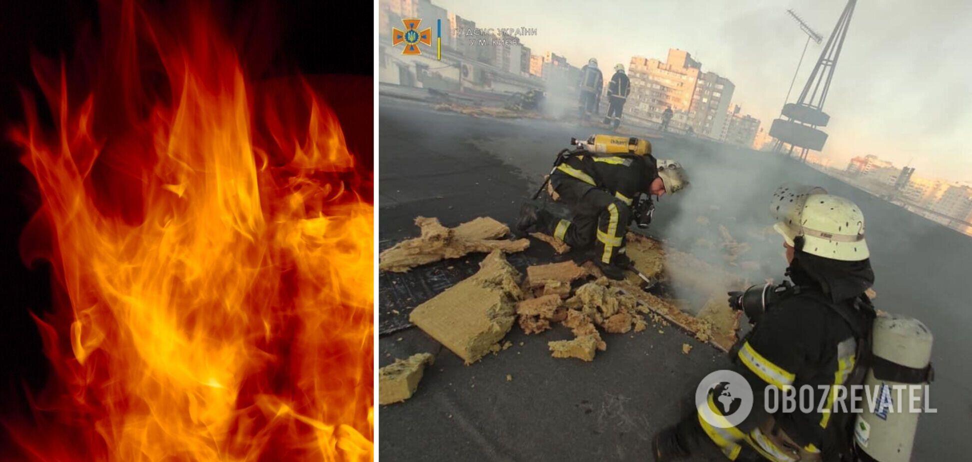 Пожежа в Києві 4 вересня