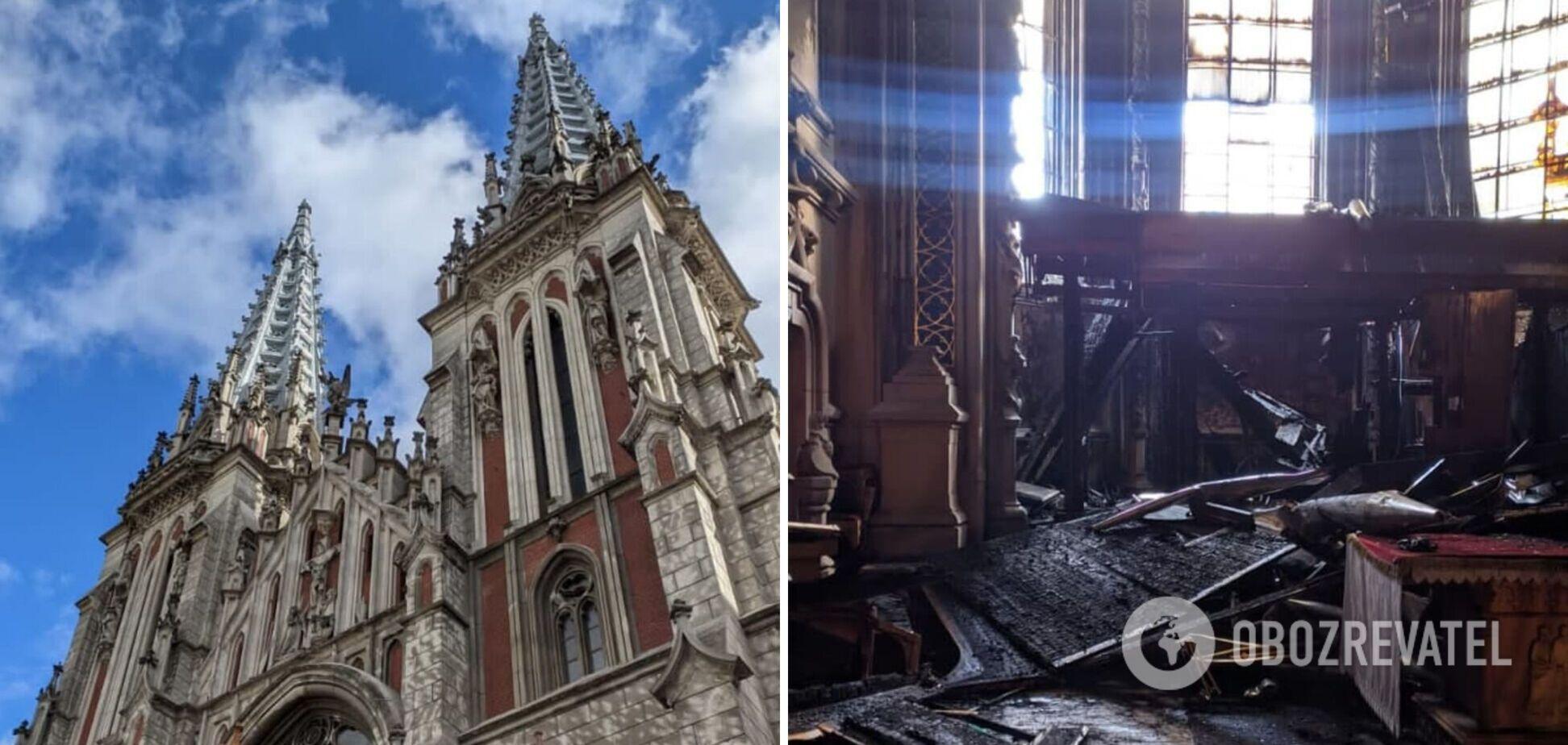 Украинский бизнес собрал более 20 млн грн за день на восстановление костела Святого Николая