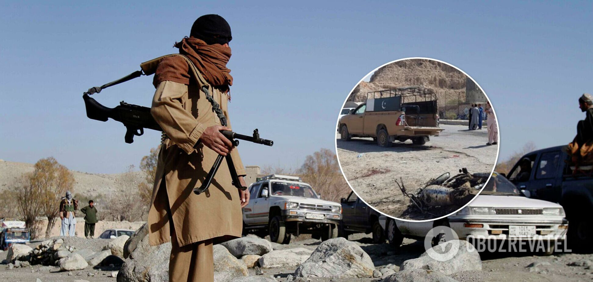 В Пакистане террорист-смертник взорвал бомбу на блокпосту: 4 человека погибли, 19 ранены