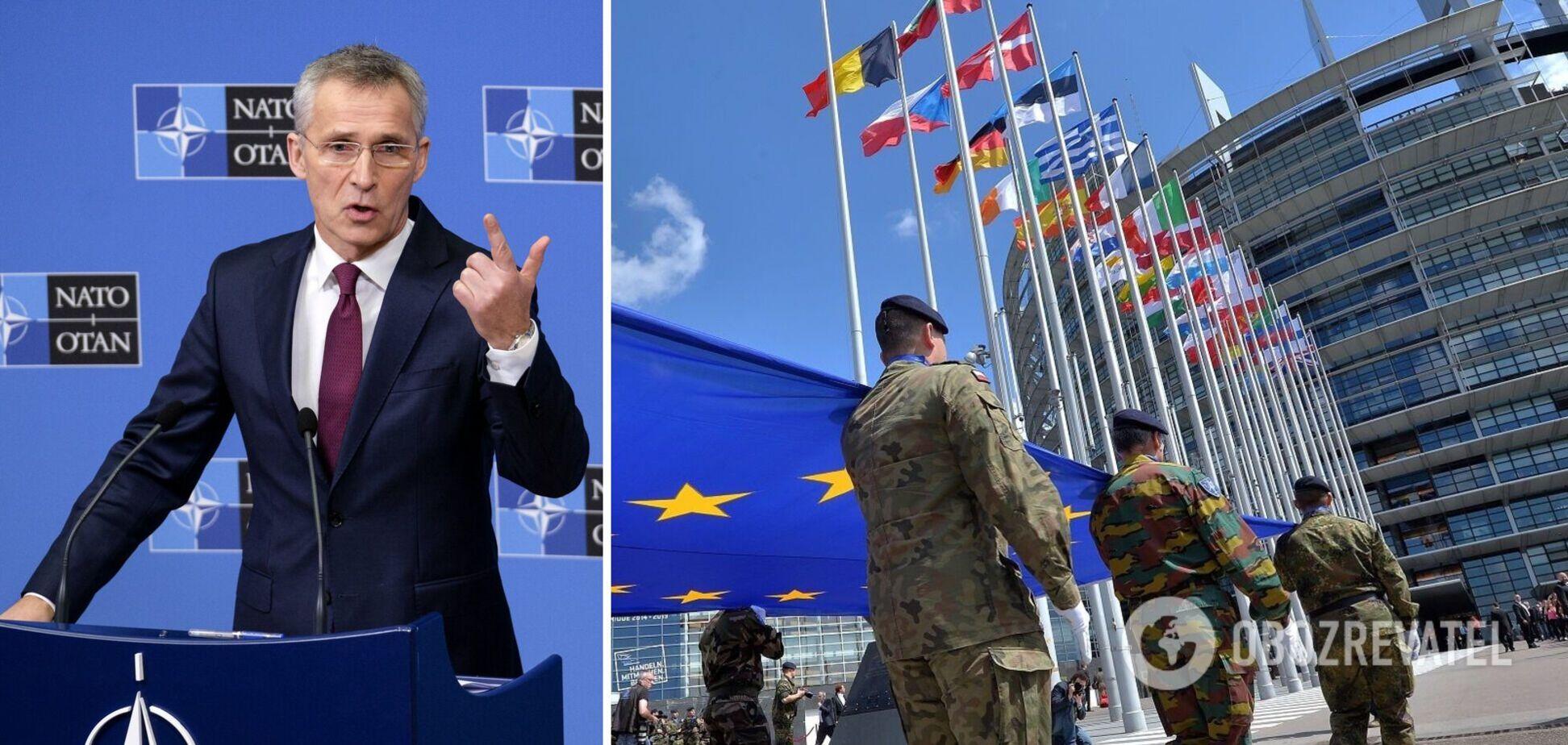 Столтенберг вказав на проблему зі створенням ЄС власних збройних сил: не тільки послабить НАТО