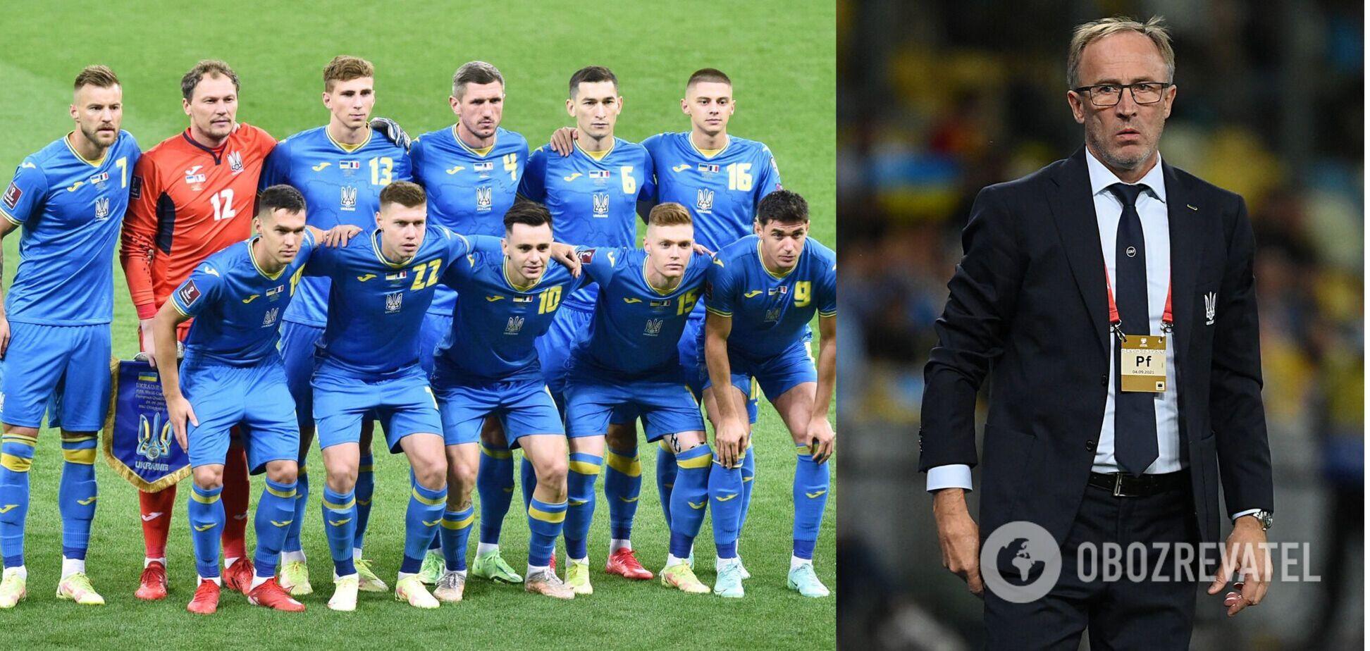 Петраков виключив гравця 'Динамо' зі складу збірної України на гру з Чехією