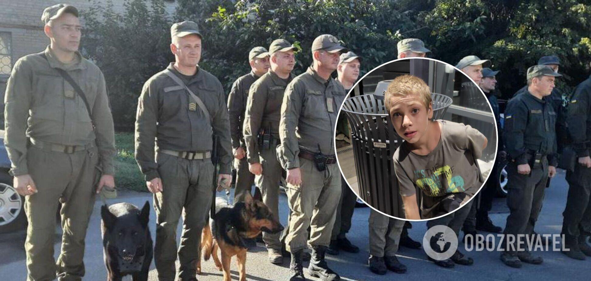 В Запорожской области загадочно пропал подросток: его ищут полиция, кинологи и нацгвардейцы. Фото
